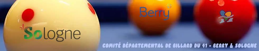 Comité Départemental de Billard du 41 - Berry & Sologne